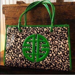 NWOT ANTONIO MELANI Leopard Print Purse